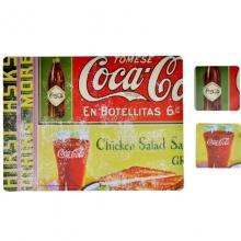 Propaganda Coca-Cola - Jogo Americano