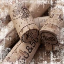 Três Rolhas de Vinho- Quadros
