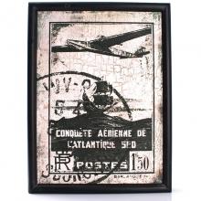 Avião Vintage - Quadros Retrô