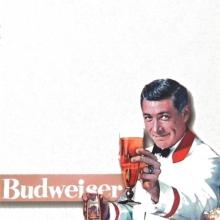 Porta Recados de Geladeira - Budweiser