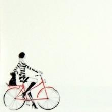Porta Recados de Geladeira - Bicicleta