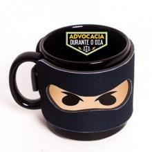 Advocacia - Ninja das Profissões - Caneca