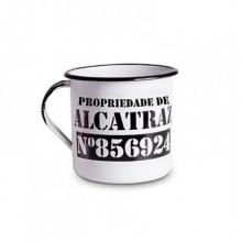 Alcatraz - Tamanho M - Caneca de Metal