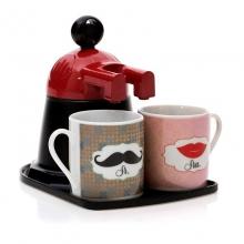 Mini Expresso Cafeteira - Sr. e Sra.