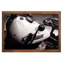 Moto Antiga- Quadros Retrô