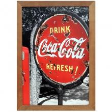 Coca - Cola Placa - Quadros Retrô