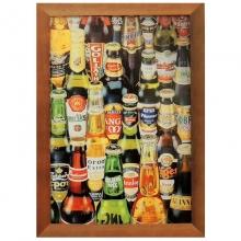 Garrafas de Cervejas - Quadros Retrô