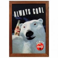 Coca - Cola - Urso Polar - Quadros Retrô