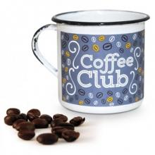 Coffee Club- Tamanho G - Caneca de Metal
