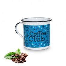 Coffee Club- Tamanho M - Caneca de Metal