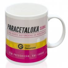 Paracetaloka - Caneca Termossensível
