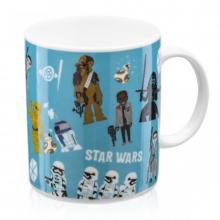 Bonecos Força - Caneca Star Wars