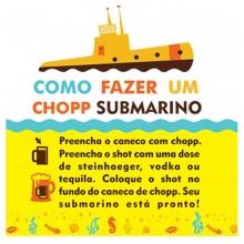 Copo Submarino - Polvo