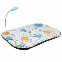 Hora de Estudar - Bandeja p/ Laptop com Luminária Hora de Aventura