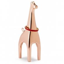 Girafa - Porta Anéis Cobre