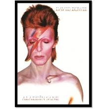 David Bowie Aladdin Sane - Poster com Moldura