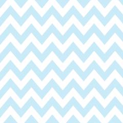 Tricoline 100% algodão Zig Zag Chevron Azul DX1676-4 * 50cm x 1,50m