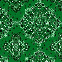 Tricoline Bandana Verde DX2272-05 * 50cm x 1,50m