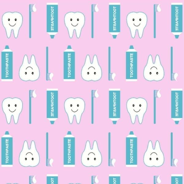 Tricoline Dentes DX3312-2 Rosa - Diversas
