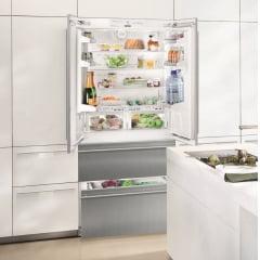 Refrigerador de Embutir Porta Revertível 534 L LIEBHERR 127 V