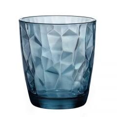 Copo Para Whisky Diamond Bormioli Azul 390ml