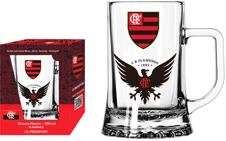 Caneca Personalizada Flamengo Urubu