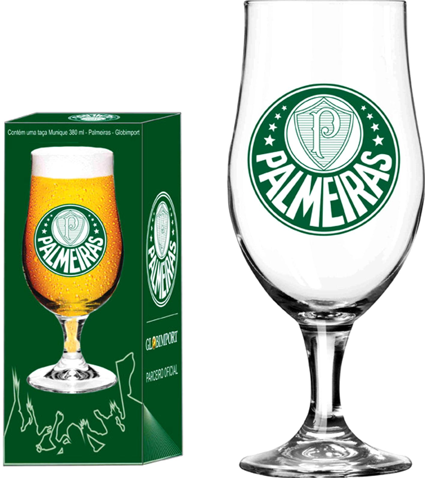 Taça Cerveja Munique 380ml Palmeiras Logo