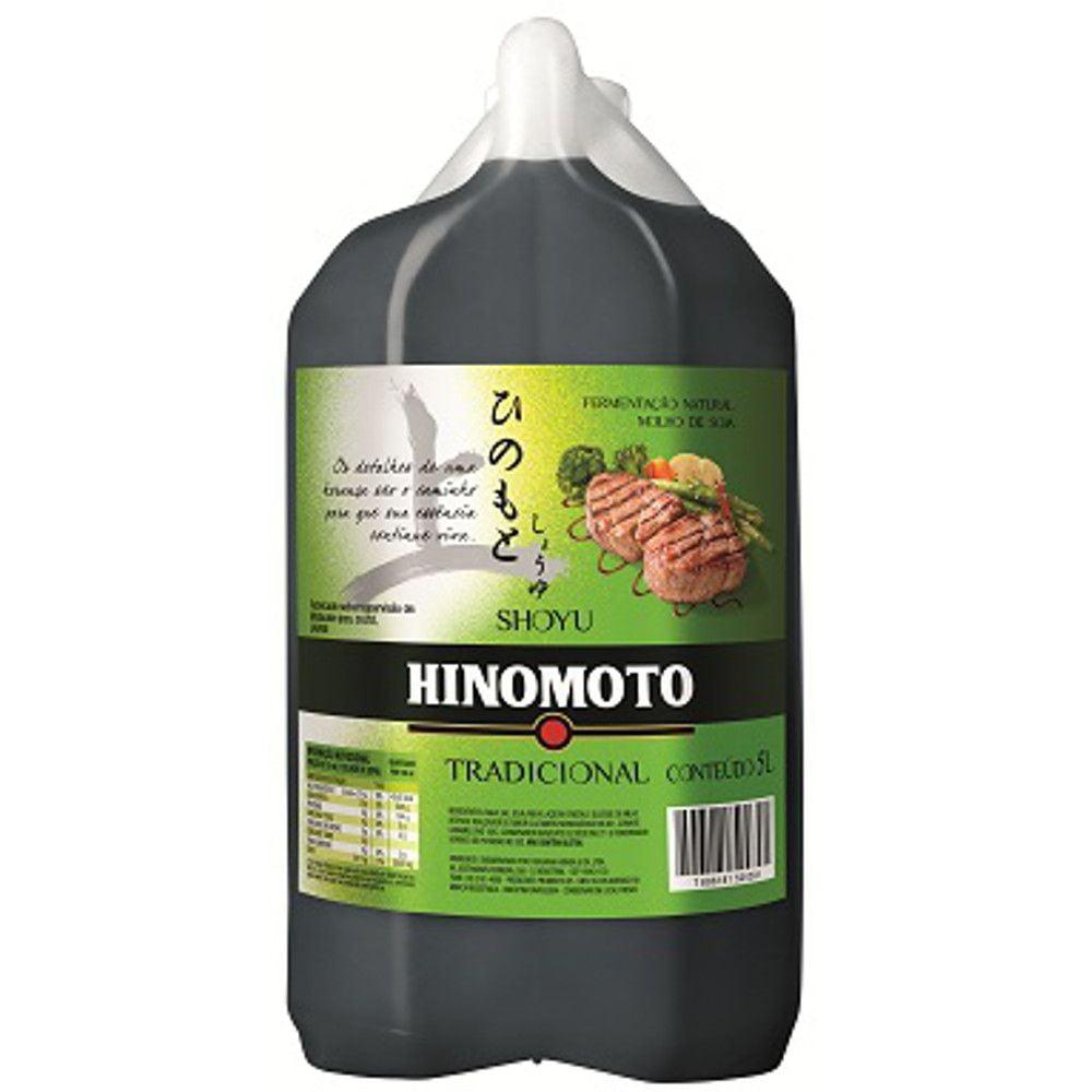 Molho de Soja Shoyu Hinomoto Tradicional - 5 L