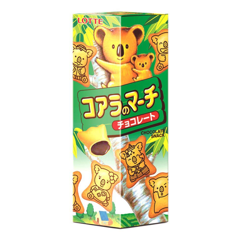 Biscoito Koala com Recheio de Chocolate Lotte - 49 gramas