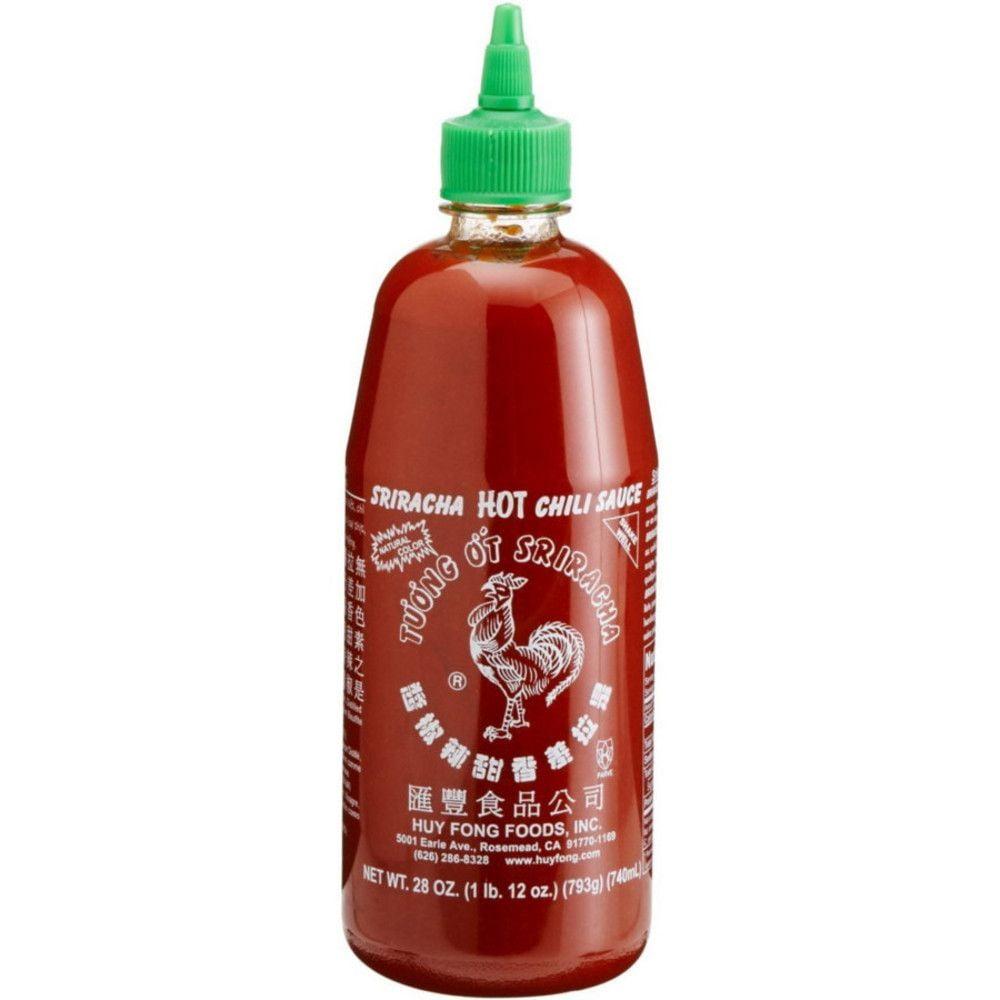 Pimenta Americana Sriracha Hot Chili Sauce Molho - 740 mL