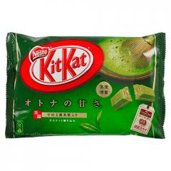 Chocolate Japonês KitKat Chá Verde Matcha 12 unidades – 135,6 gramas
