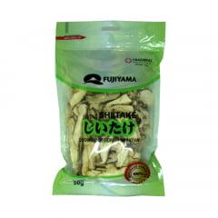 Cogumelo Desidratado Shitake Fatiado - 50 gramas