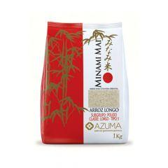 Arroz Branco Japonês Minami Mai Azuma Longo - 1Kg