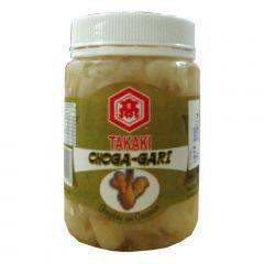 Conserva de Gengibre Fatiado Choga Gari - 100 gramas (Drenado)
