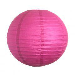 Luminária Oriental Rosa Pink Lisa - 40 cm