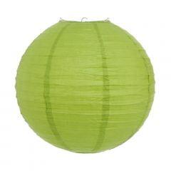 Luminária Oriental Verde Claro Lisa - 40 cm