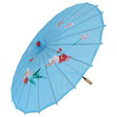 Sombrinha Oriental Azul - 83 cm
