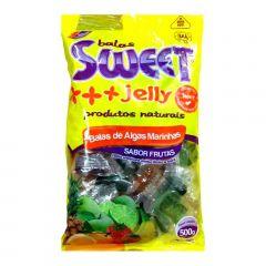 Bala de Alga Marinha Sabor Fruta tipo Gelatina Sweet Jelly - 500 gramas