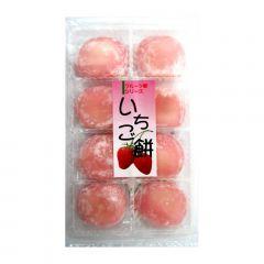 Doce Japonês de Arroz Moti Sabor Morango - 230 gramas
