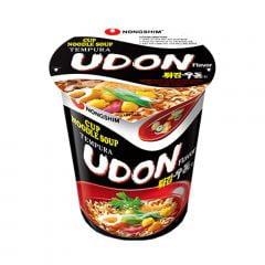 Lamen Coreano Udon Tempura Cup Noodle Soup 62g