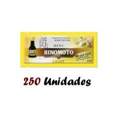 Molho de Soja Shoyu Hinomoto Light Sachê 10 ml - 250 unidades