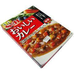 Oishii Curry Chukara nível Médio Semi Pronto S&B - 180 gramas