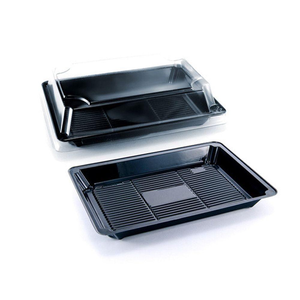 Embalagem pl stica sushi 01 para servir comida japonesa for Utensilios para servir comida