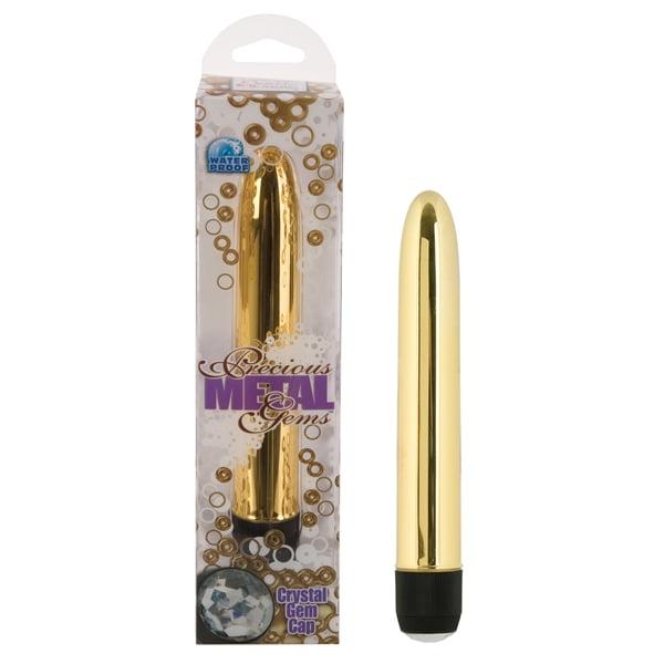 Vibrador Personal Precious Metal Gems 15cm x 3cm