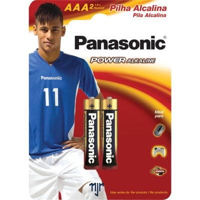 Pilha Alcalina Panasonic - Power ALKALINE AAA