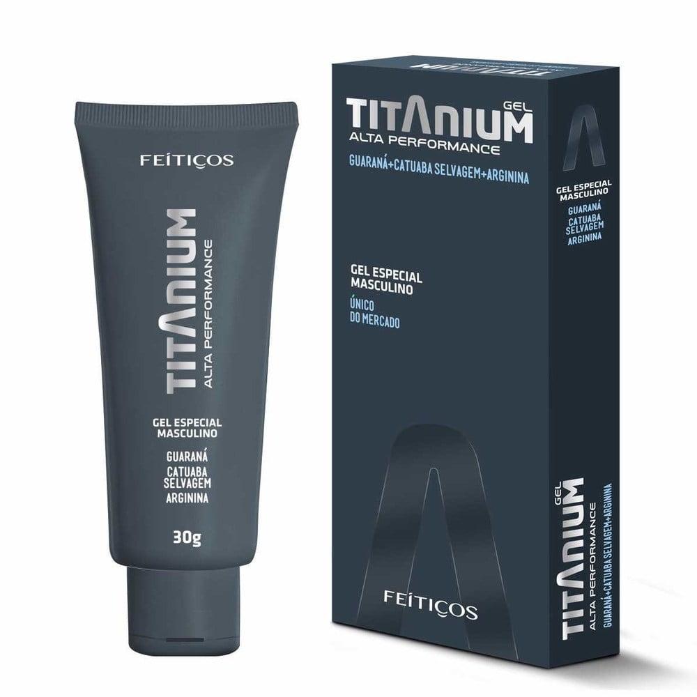 Titanium Gel Especial Masculino 30G