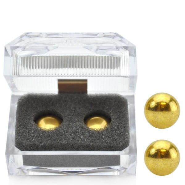 Bolas de  Metal para Pompoarismo Douradas - ORIENTAL GOLD BALL