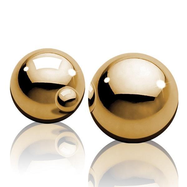 Bolinhas para Pompoar - Ben-Wa Gold Balls