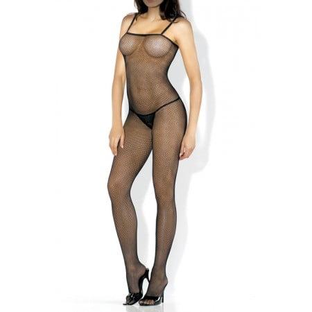 Body Desire Hosiery Arrastão Corpo Inteiro Preto