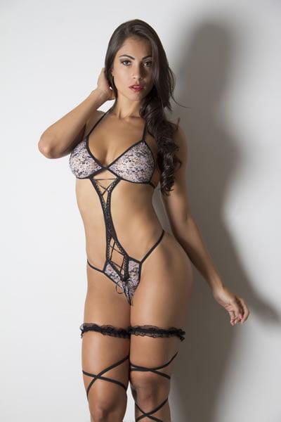 Body Sensual Garota Veneno